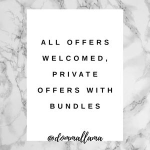 OFFERS WELCOMED • Shop With Confidence!